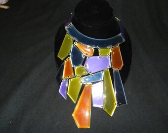 ENAMEL MULTI-COLORED Necklace