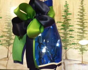Seattle Seahawks Lighted Wine Bottle
