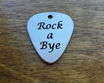Guitar Picks Stainless Steel Custom Engraved With Text