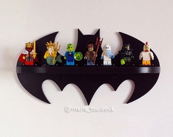 "Wooden shelf ""Batman"""