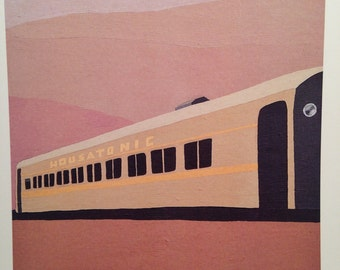 Housatonic Train Travel print