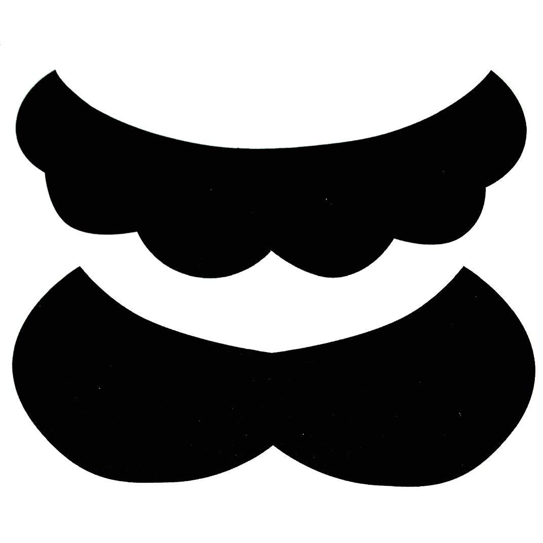 mustache print out template - super mario luigi mustache sticker sheet 10 20 50 100 500