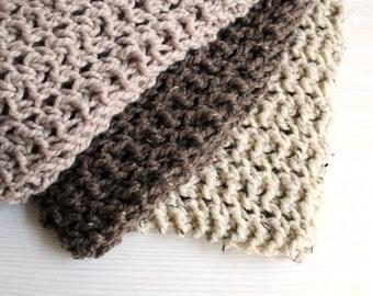 Baby Blanket Newborn Prop Car Seat Knit Linen- Daisy Blanket
