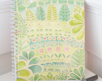 Flower Garden Notebook