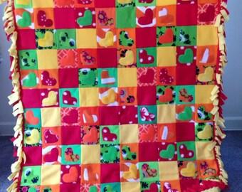 PATCHWORK Fleece Blanket