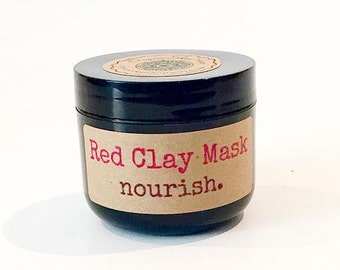 The Red (Rhassoul) Clay Mask
