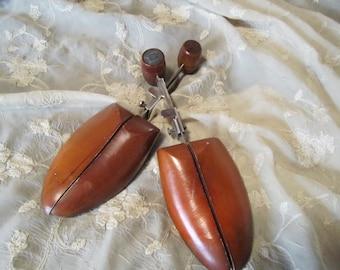 Vintage Wooden Shoe Form
