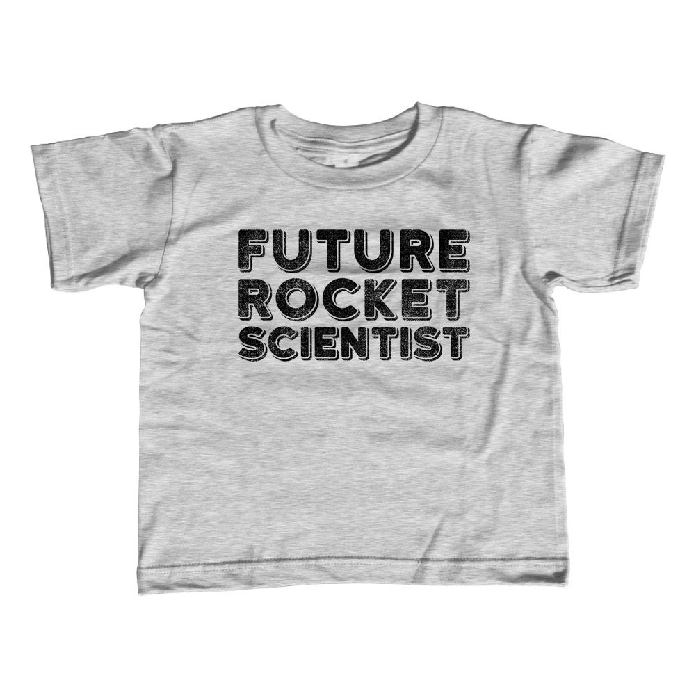 Future Rocket Scientist Kids T-Shirt Scientist Kids Shirt