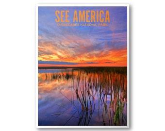 Everglades National Park - See America Print