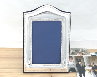 Silver Photo Frame, Silver Picture Frame, Hallmarked Silver Frame, Contemporary Style - No. 57