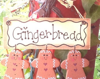 Gingerbread ornament, christmas tree ornament, christmas gift, gifts
