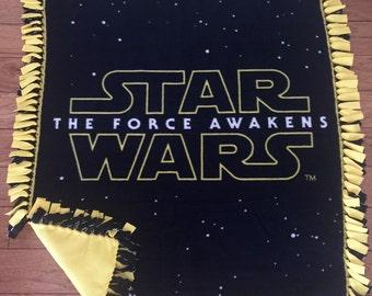 Star Wars fleece throw blanket