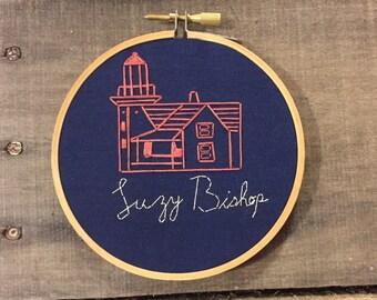 Moonrise Kingdom Embroidery.