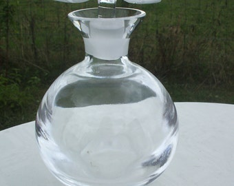 Large Two Flower Perfume Bottle