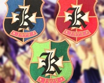 Clannad Anime Cosplay Iron-on Embroidered School Uniform Hikarizaka Patch/Badge