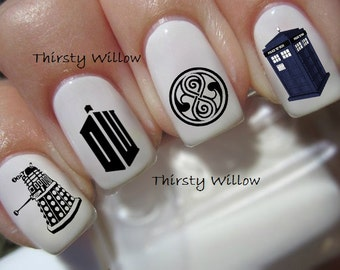 Doctor Who Nail Decals