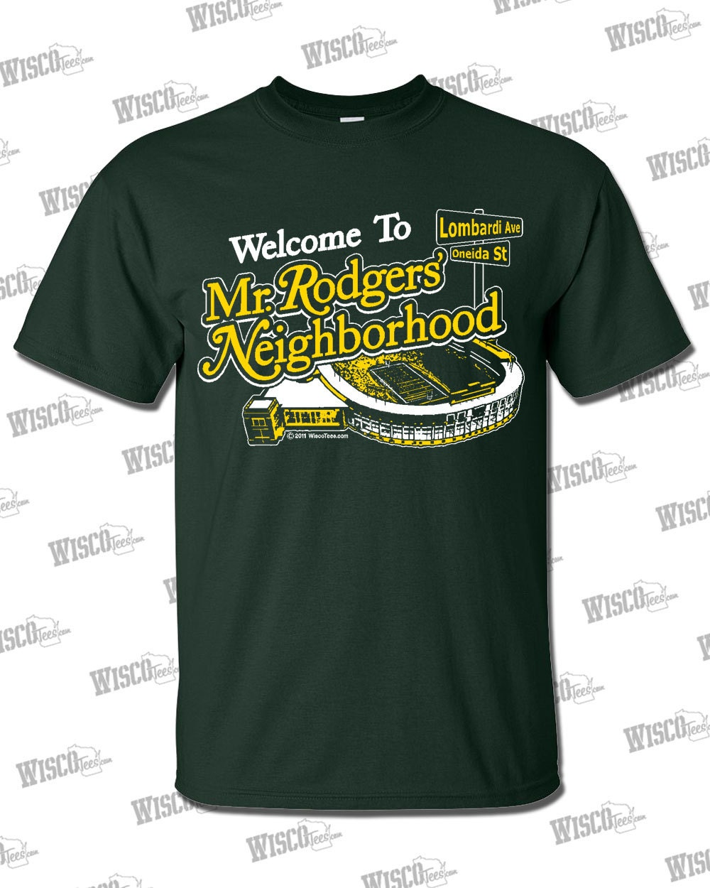 Mr Rodgers 39 Neighborhood T Shirt Green Bay Packers