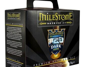 Milestone, brewery, Dark Galleon ,beer , real ale kit, homebrew ,
