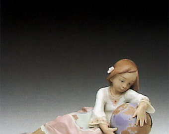 Collectible Retired Vintage Lladro Spanish Porcelain World of Fantasy # 5943