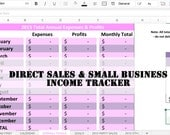 Jamberry Direct Sales and Party Plan Small Business Planner and Income Tracker