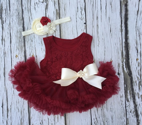 Baby girl dress Infant dress Baby pettiskirt Baby petti
