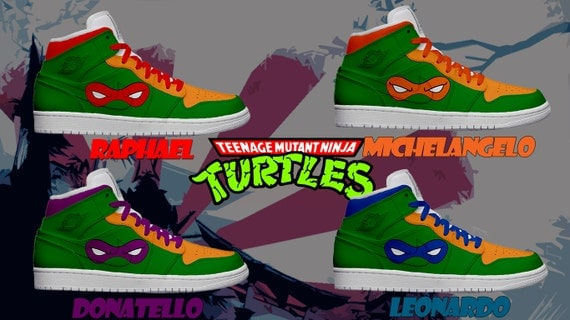 women 39 s light up teenage mutant ninja turtles by kickolasnage. Black Bedroom Furniture Sets. Home Design Ideas