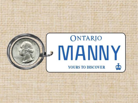 how to get a personalized license plate in ontario