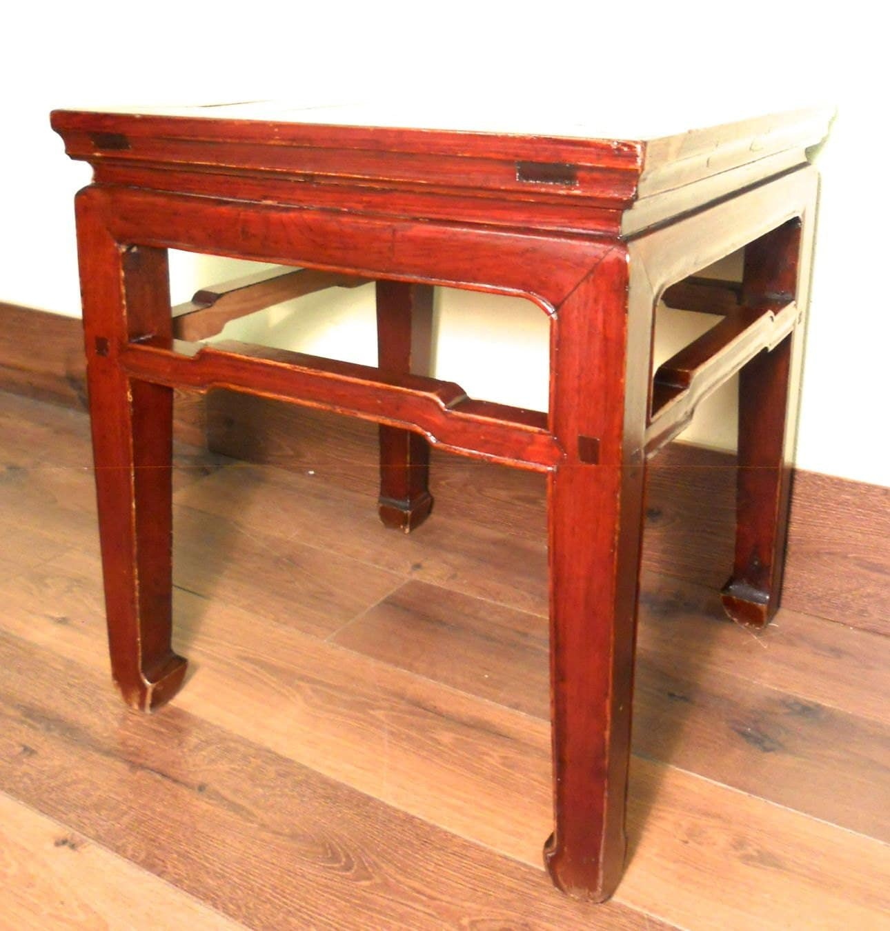 Antique Chinese Ming Meditation Bench 5398 Circa 1800 1849