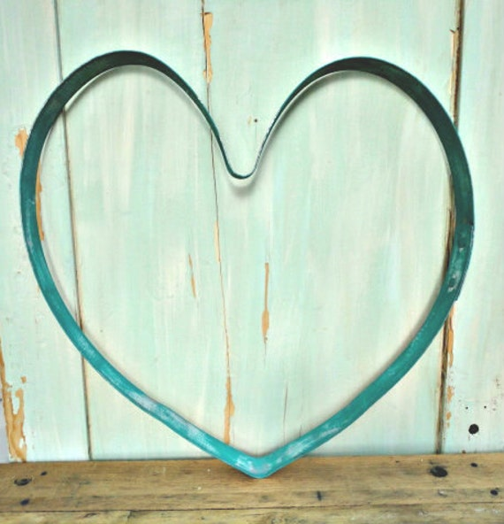 how to make a wine barrel hoop heart