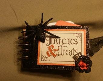 Trick & Treat Halloween Toilet Paper Roll Mini Album
