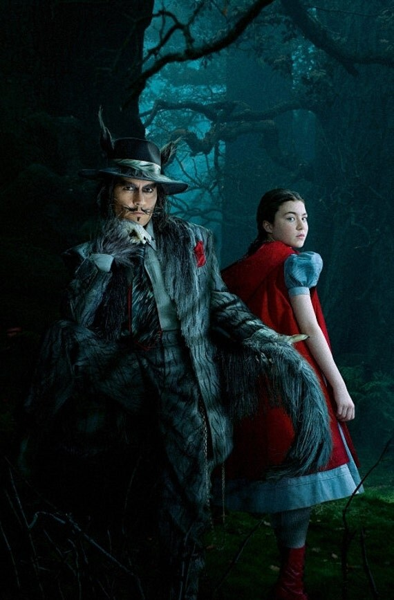 Into The Woods Art Textless Poster Johnny Depp V7