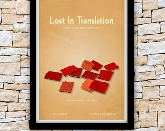 Lost In Translation movie poster - Sofia Coppola - 2004