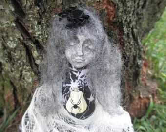 Spirit Doll,The Crone Goddess Doll, Spirit Doll,Alter Doll,Poppet Doll,Art Doll
