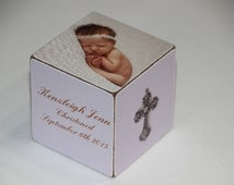 Personalized Baptism Baby's Baptism Block Personalized Baby Dedication Gift Baby Personalized Christening Gift