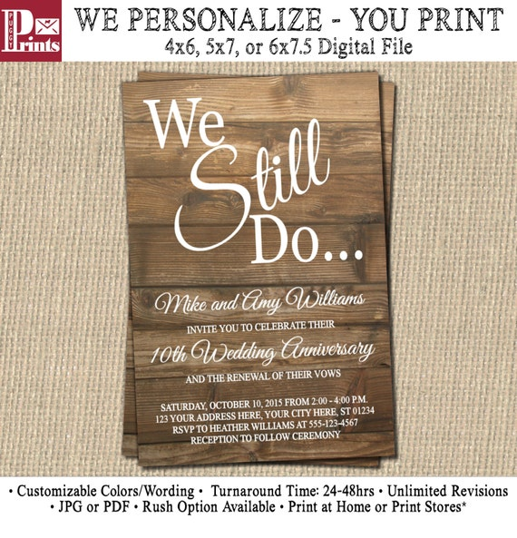 Astounding image inside free printable vow renewal invitations