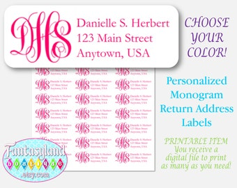 avery 5160 return address label template - avery 5160 etsy