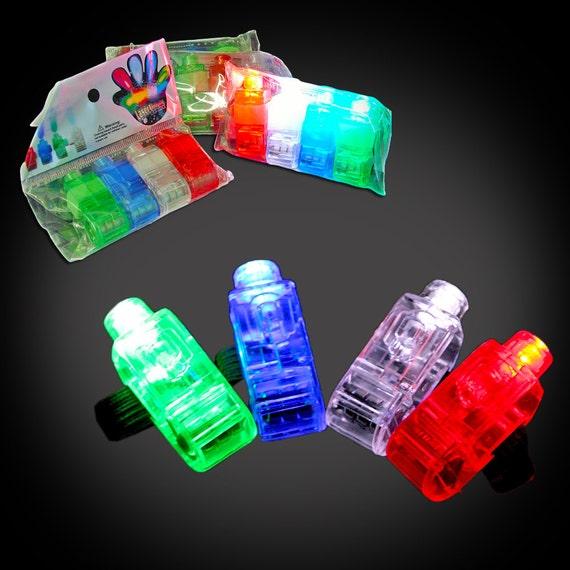 Ten packs of led finger lights 4 lights per pack 40 for Led lights for craft projects