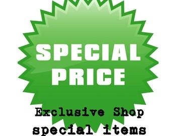 Exclusive Shop Special Items