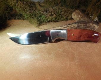 WAPITI SKINNER  Red Mallee Cocobolo handles