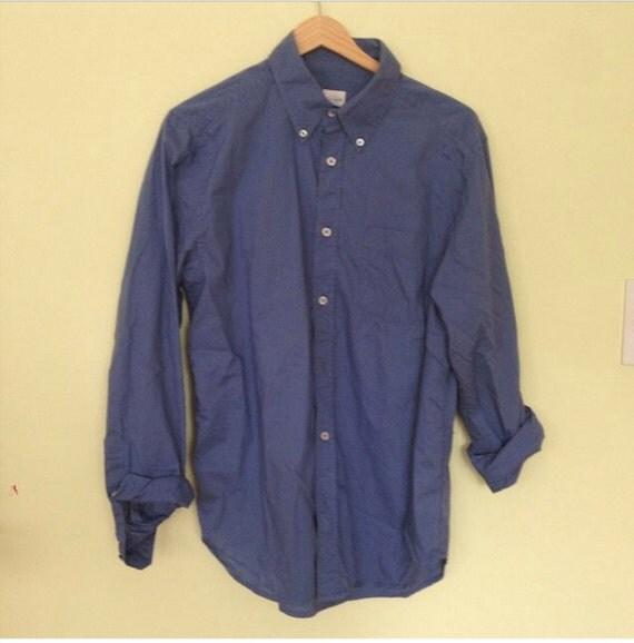 Old Navy Blue Button Up Shirt
