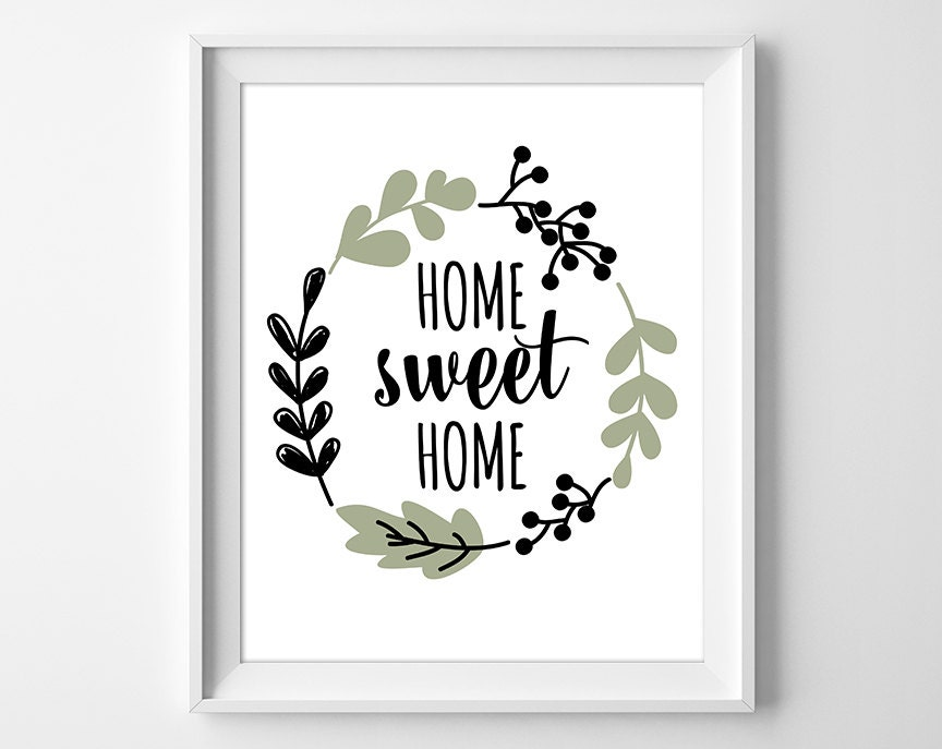 It's just a picture of Transformative Home Sweet Home Printable