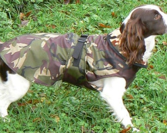 Camouflage Waterproof Dog Coats Various sizes or custom made