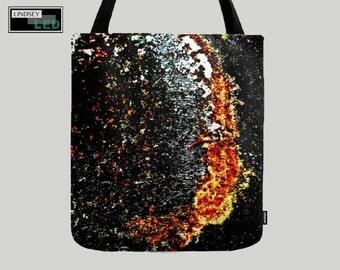 Galactic Rust Tote Bag