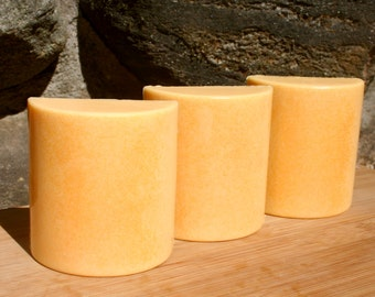 Tangerine Dreams Detergent Free Shea Butter Soap with Tumeric Powder