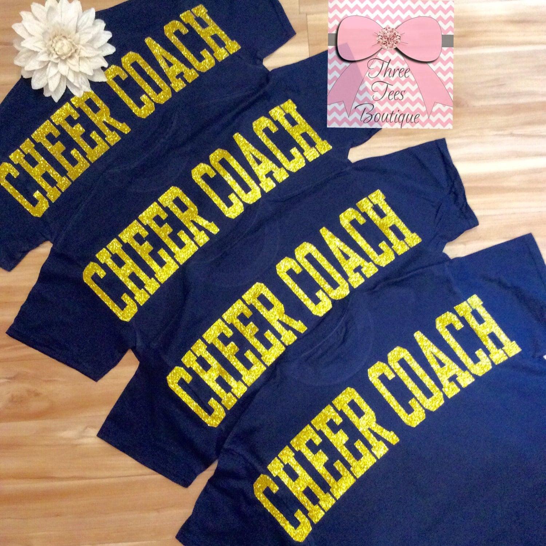 cheer monogram t
