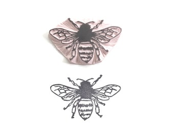 Honey Bee Rubber Stamp by Tripolo