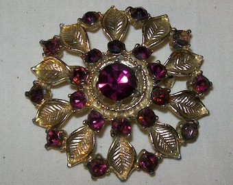 Flower Pin or Brooch