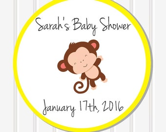 Baby Shower Decor, Personalized Sticker, Favor Stickers, Baby Shower Stickers, Custom Stickers, Baby Shower Favor, Baby Shower Labels, SS26