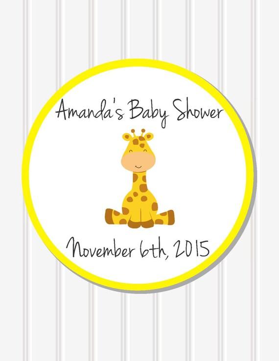 baby shower stickers custom stickers baby shower favor baby shower