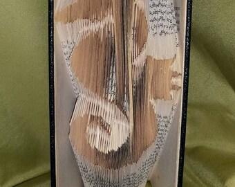 PATTERN #224 seahorse book folding pattern. 211 folds
